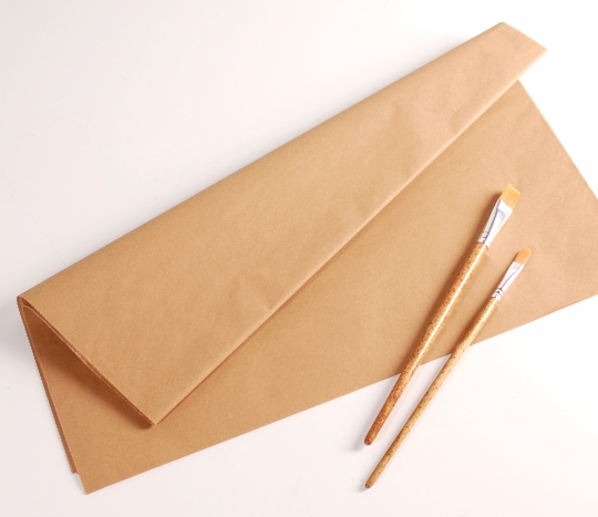 Manilapapier in Kraft Farbe