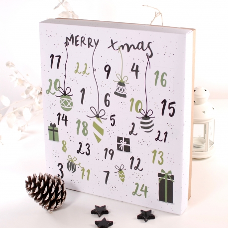 Calendario de adviento Merry Xmas