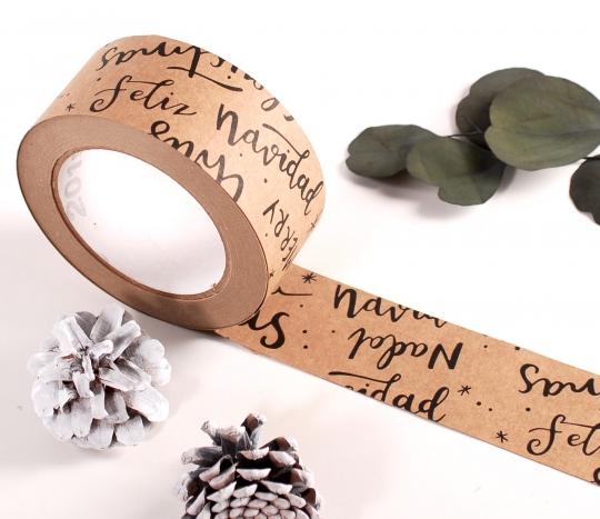 Christmas style sticky tape