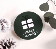 Large sticker for Xmas gifts