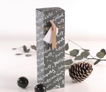 Scatola individuale per vini natalizi