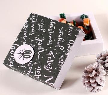 Scatola per cioccolatini natalizi