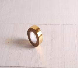 Gold washi tape with geometric pattern