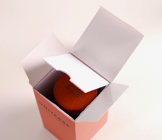 Rectangular cardboard holder