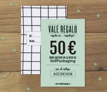 Tarjeta regalo SelfPackaging 50 €
