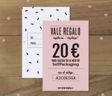 Tarjeta regalo SelfPackaging 20 €